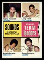 George Thompson, Larry Finch, Randy Denton [EX]