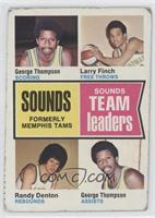 George Thompson, Larry Finch, Randy Denton [Good to VG‑EX]