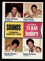 George Thompson, Larry Finch, Randy Denton [EX]