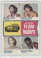George Carter, George Irvine, Jim Eakins, Ronald Taylor