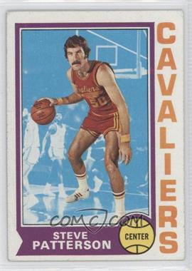 1974-75 Topps #24 - Steve Patterson [Good to VG‑EX]