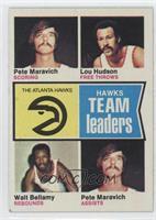 Pete Maravich, Lou Hudson, Walt Bellamy