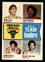 Bob Love, Chet Walker, Clifford Ray, Norm Van Lier [EX MT]