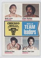 Bob Love, Chet Walker, Clifford Ray, Norm Van Lier