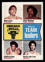 Bob Love, Chet Walker, Clifford Ray, Norm Van Lier [VG]