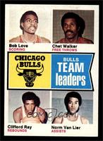 Bob Love, Chet Walker, Clifford Ray, Norm Van Lier [NM MT]