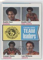 Austin Carr, Dwight Davis, Lenny Wilkens [GoodtoVG‑EX]