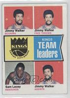 Jimmy Walker, Sam Lacey, Virginia Squires Team