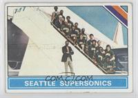 Seattle SuperSonics Team, Bill Russell [Good to VG‑EX]