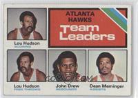 Atlanta Hawks Team Leaders (Lou Hudson, John Drew, Dean Meminger) [Goodto…