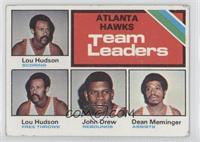 Lou Hudson, John Drew, Dean Meminger [GoodtoVG‑EX]
