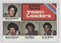 Dave Cowens, Kevin Stacom, Paul Silas, Jo Jo White [Good to VG‑…