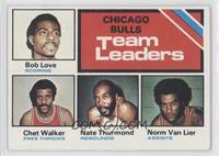 Bulls Team Leaders (Bob Love, Chet Walker, Nate Thurmond, Norm Van Lier)