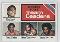 Bulls Team Leaders (Bob Love, Chet Walker, Nate Thurmond, Norm Van Lier)