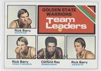 Golden State Warriors Team Leaders (Rick Barry, Clifford Ray)