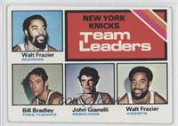 Walt Frazier, Bill Bradley, John Gianelli [Good to VG‑EX]