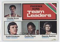 Phoenix Suns Team, Charlie Scott, Keith Erickson, Curtis Perry, Dennis Awtrey […