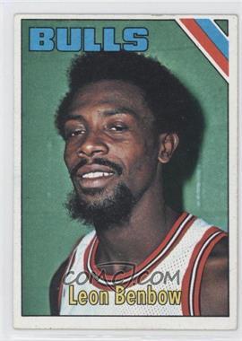 1975-76 Topps #196 - Leon Benbow