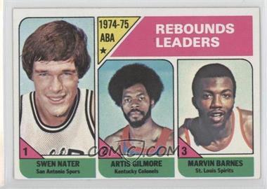 1975-76 Topps #225 - Swen Nater, Artis Gilmore, Marvin Barnes