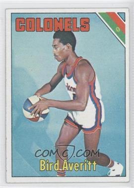 1975-76 Topps #229 - Bird Averitt