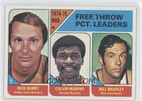 Rick Barry, Calvin Murphy, Bill Bradley