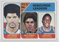 Wes Unseld, Dave Cowens, Sam Lacey [Good to VG‑EX]