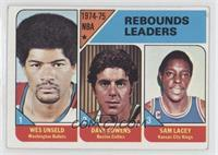 Wes Unseld, Dave Cowens, Sam Lacey
