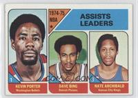 Kevin Porter, Dave Bing, Nate Archibald [Good to VG‑EX]