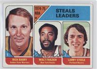 Rick Barry, Walt Frazier, Larry Steele