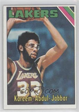 1975-76 Topps #90 - Kareem Abdul-Jabbar