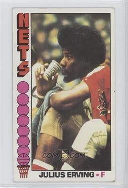 1976-77 Topps - [Base] #1 - Julius Erving [Good to VG‑EX]