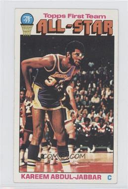 1976-77 Topps - [Base] #126 - Kareem Abdul-Jabbar