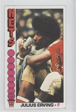 1976-77 Topps #1 - Julius Erving [GoodtoVG‑EX]
