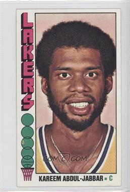 1976-77 Topps #100 - Kareem Abdul-Jabbar