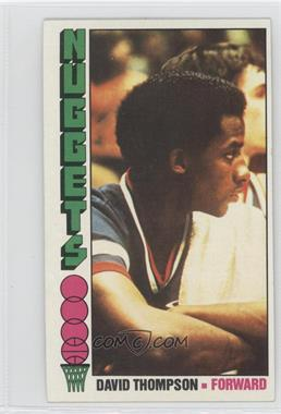 1976-77 Topps #110 - David Thompson