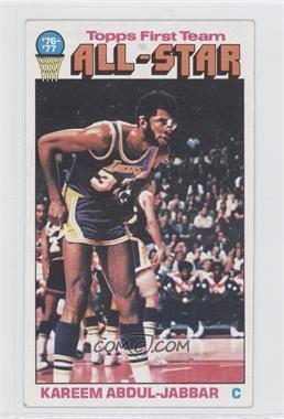 1976-77 Topps #126 - Kareem Abdul-Jabbar