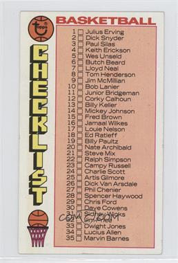 1976-77 Topps #48 - [Missing]