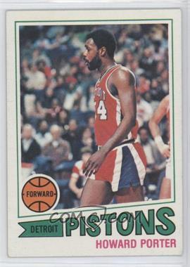 1977-78 Topps White Back #102 - Howard Porter