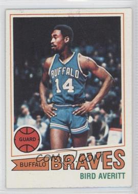 1977-78 Topps White Back #8 - Bird Averitt