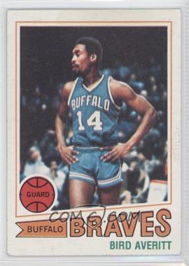 1977-78 Topps #8 - Bird Averitt