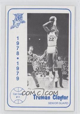 1978-79 Foodtown Kentucky Wildcats #11 - Truman Claytor