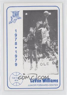 1978-79 Foodtown Kentucky Wildcats #14 - LaVon Williams