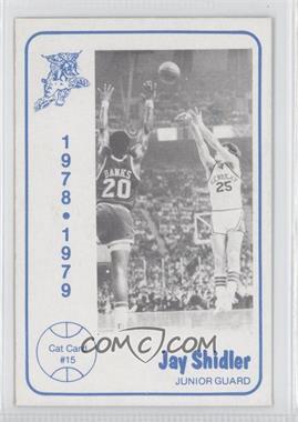1978-79 Foodtown Kentucky Wildcats #15 - Jay Shidler