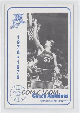 1978-79 Foodtown Kentucky Wildcats #17 - Chuck Aleksinas