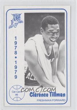 1978-79 Foodtown Kentucky Wildcats #8 - Clarence Tillman