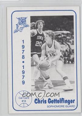 1978-79 Foodtown University of Kentucky Wildcats - [Base] #18 - Chris Gettelfinger