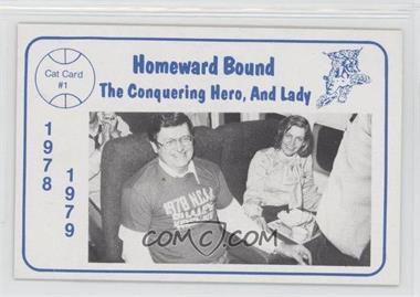 1978-79 Foodtown University of Kentucky Wildcats #1 - Joe Hall