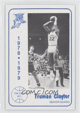 1978-79 Foodtown University of Kentucky Wildcats #11 - Truman Claytor