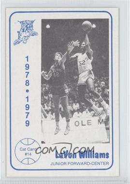 1978-79 Foodtown University of Kentucky Wildcats #14 - LaVon Williams