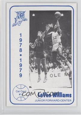 1978-79 Foodtown University of Kentucky Wildcats #14 - LaVon Williams